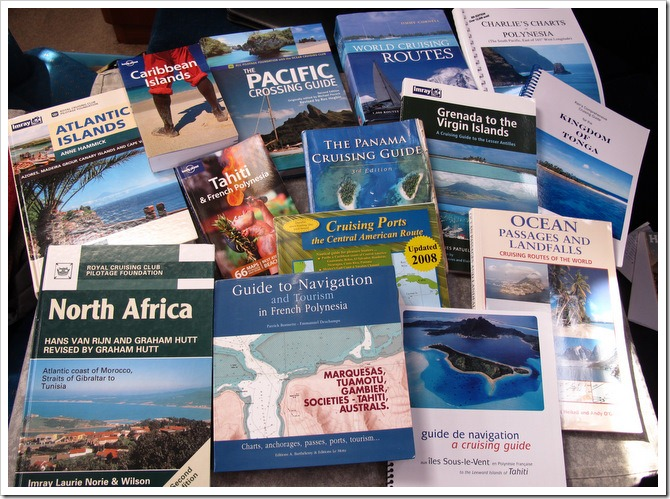 Recommended Cruising guides for Pacific Crossing & Atlantic crossing