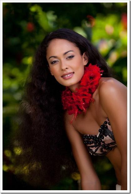 Rauata Temauri Miss Tahiti 2011